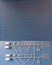 Hobbex OH110, H0 Oberleitung, 12 Fahrdrähte  2/1 (354 mm), 2 Zubehörsätze