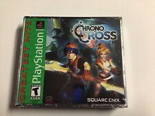 Chrono Cross (PlayStation 1, 2000)Greatest Hits) New