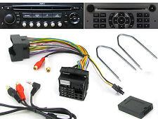 Citroen adattatore aux C2 C3 C4 C5 MK2 C8 3.5 mm Jack Lead CTVPGX 011 & Rilascio Chiavi