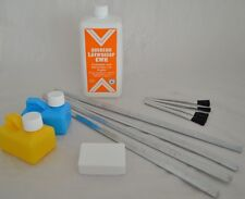 XL-Lötset für Dachdecker, Lötzinn 97/3+ Lötwasser f. Kupfer +Lötwasserpinsel