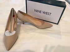 "NWT NINE WEST Beige 2"" Heel Size 10"