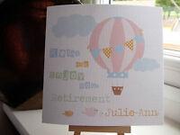 Handmade Personalised Retirement Leaving Work New Job Good Luck Birthday Card