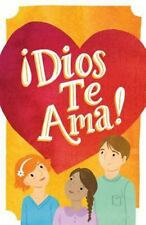 Dios Te AMA! 25 Pack by Good News Tracts (2016, Stapled)
