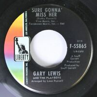 Rock 45 Gary Lewis And The Playboys - Miss Her / I Don'T Wanna Say Goodnight On