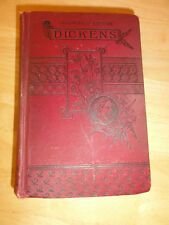 1886 - DOMBEY AND SON, Household Edition by Charles DICKENS, Antique