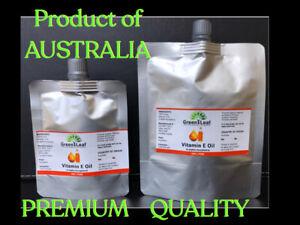 Natural Vitamin E Oil 100% Pure - (D-Alpha Tocopherol) Very thick Oil 50ml 100ml