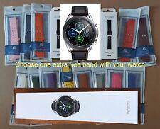 Samsung Galaxy Watch3 SM-R845 45mm LTE Mystic Silver BRAND NEW + EXTRA BAND