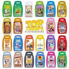 Top Trumps Card Games -  Largest Range - Dinosaurs, TMNT, Retro, Marvel, DC etc