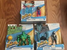 Lot of 3 Stretch Armstrong and the Flex Fighters Monster Blindstrike Walmart