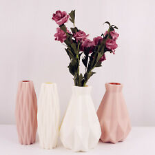 Geometric Origami Vase Home Office Decor Flower Arrangement Container Vases+Flow