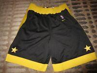Los Angeles Lakers 1957 NBA Retro Rewind Nike Black Shorts M Medium Mens