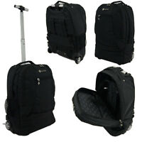 Wheeled Laptop Backpack, Briefcase,Cabin Bag Business Trolley Case Hand Luggage