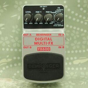 Behringer FX600 Digital Multi-FX Modulation Guitar effect pedal