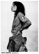 "Patti Smith Amsterdam '76 NEW A1 Size 84.1cm x 59.4cm - approx 33"" x 24"" Poster"