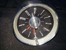 1962 1963 OEM Ford Thunderbird Dash Clock Vintage Original