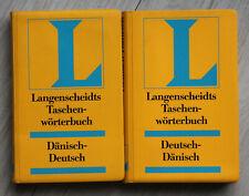 Langenscheidts Taschenwörterbücher DÄNISCH - dänisch/deutsch + deutsch/dänisch