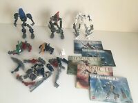 Lego Bionicle Joblot Bundle Genuine Lego with Instructions INCOMPLETE