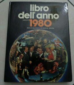 LIBRO DELL'ANNO 1980 EDIZIONE DE AGOSTINI 1979