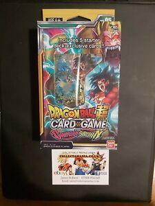 Dragon Ball Super Card Game: Crimson Saiyan Starter Deck SD05