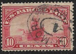 2v0790 Scott Q6 US Parcel Post Stamp 1913 10c Steamship Mail Used