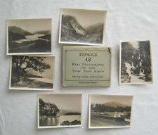 12 Real Photographs For Your Snap Shot Album Keswick England Valentines