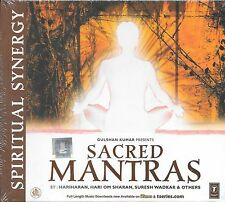 SACRED MANTRAS - BY VARIOUS ARTISTS - BRAND NEW SOUND TRACK CD