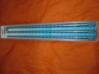SDS plus extra lang Hammer Bohrer Set 10/12/14 x 450mm Ziegel, Beton, Stein