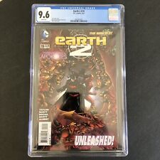 EARTH 2 #19 CGC 9.6 1ST APPEARANCE OF VAL-ZOD BLACK SUPERMAN OF EARTH 2