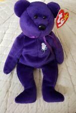 Ty Beanie Baby PRINCESS (Diana) Bear 1997 P.E. Pellets MINT