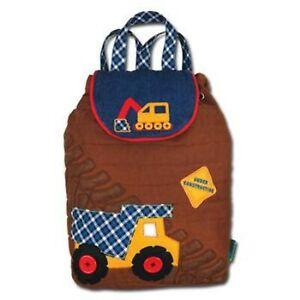 Personalised Stephen Joseph Construction backpack for children, School Bag, Kids