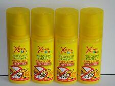 4 X 120ML DEET FREE XPEL KIDS CHILDREN'S  MOSQUITO INSECT REPELLENT