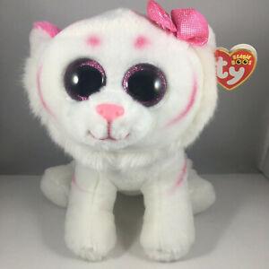 Ty Beanie Boos PURRCILLA the Pink Tiger (Medium 9 Inch) Walgreens Exclusive MWMT
