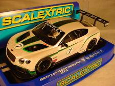 Scalextric Bentley Continental GT3 #7 C3514 MB DPR