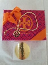 Tory Burch Gold Filled Charm Bracelet