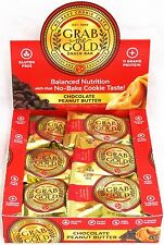 Grab The Gold Energy Protein Snack Bars Chocolate Peanut Butter 12 Count Box