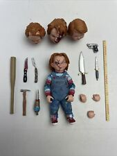 NECA CHILD'S PLAY GOOD GUYS CHUCKY ACTION FIGURE Loose And Complete