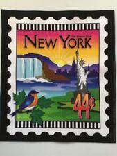 State Stamp fabric panel - New York