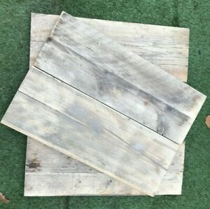 """2FT Rustic Reclaimed Interior Distressed Cladding Boards 8 1/2"""" X 1 1/2"""" Sanded"""