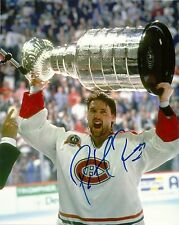 PATRICK ROY SIGNED 8X10 PHOTO MONTREAL CANADIENS AVALANCHE AUTOGRAPH