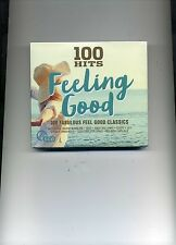 100 HITS FEELING GOOD - BARRY MANILOW BANGLES STEPS PAUL YOUNG - 5 CDS - NEW!!