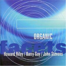 HOWARD RILEY BARRY GUY JOHN STEVENS ORGANIC CD NEW JAZZ INSTRUMENTAL FREE UKPOST