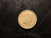 1936 FRANCE REPUBLIQUE FRANCAISE 50 CENTIMES COIN!  ZZ203XXX