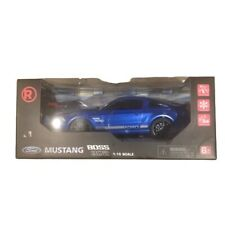 Mustang Boss 302 RC Car, Radio Shack, new in box, blue 1/15 Scale