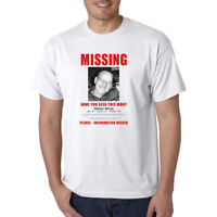 Walter White MISSING Person Flyer / Poster T-Shirt - Heisenberg Funny Meth Tee
