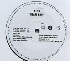 NESS.............HEART BEAT..........PromoCopy MAXI 33T