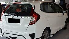 REAR ROOF SPOILER ABS WITH LAMP FOR HONDA JAZZ FIT 2014-2015