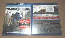 Transformers: Dark of the Moon (Blu-ray/DVD, 2014, 4-Disc Set) ****BRAND NEW****