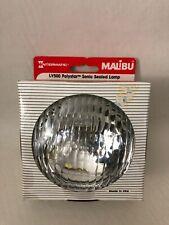 NOS MALIBU Lamp Polystar Round LV500 Sonic Sealed Lamp Intermatic Vintage USA