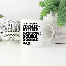 More details for double doodle dad mug: funny gift for double doodle dog owners & lovers gifts!