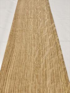 "Red Oak Wood Veneer Heavy Flake: 6 Sheets 42"" X 8"" 11 Sq Ft"